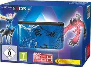Konsole XL #blau Pokemon XY Edition + Netzteil