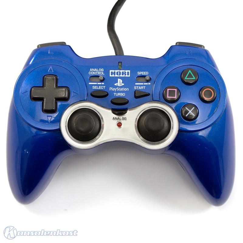 Controller / Pad mit Turbo #metallic-blau Analog Sindou Pad 2 [Hori]