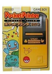 Pocket Original Printer / Drucker Pokémon Pikachu Yellow