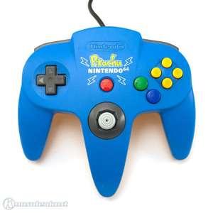 Original Nintendo Controller #hellblau-gelb Pikachu Edition NUS-005