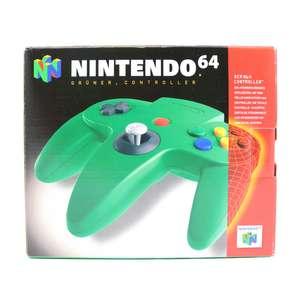 Original Nintendo Controller / Pad NUS-005 #grün