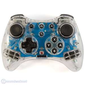 Wireless Controller / Classic Gamepad Pro #transparent Afterglow Blau [pdp]
