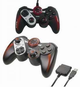 Wired Controller / Pad #schwarz PS2700 Rumble Gamepad [Saitek]