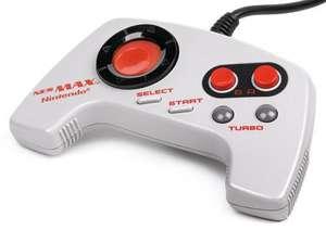 Original US Controller mit Turbo #grau MAX [Nintendo]