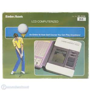 LCD Handheld - Two Player Championship Golf Game [Radio Shack]