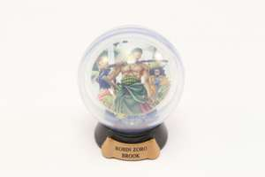 One Piece Water Dome / Schneekugel Pose Collection: Zoro Robin Brook Nr.4