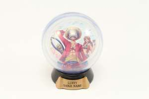One Piece Water Domer / Schneekugel Pose Collection: Lufey Sanji Nami Nr.2