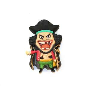 One Piece Mascot Relief Magnet - The Seven Warlords of the Sea S nach Zufallsprinzip