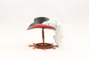 One Piece Anime Collection Hat H.A.T Drink Cap: Mihawk