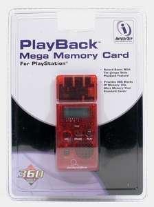 Memory Card / Memorycard / Speicherkarte 24 MB / 360 Blocks #verschieden Farben [InterAct]