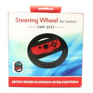 Controller Aufsatz: Lenkrad / Steering Wheel #schwarz SWF-2537