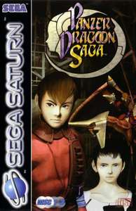 Panzer Dragoon Saga #4 CD's