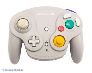 Original Nintendo Controller / Pad Wavebird Wireless #grau
