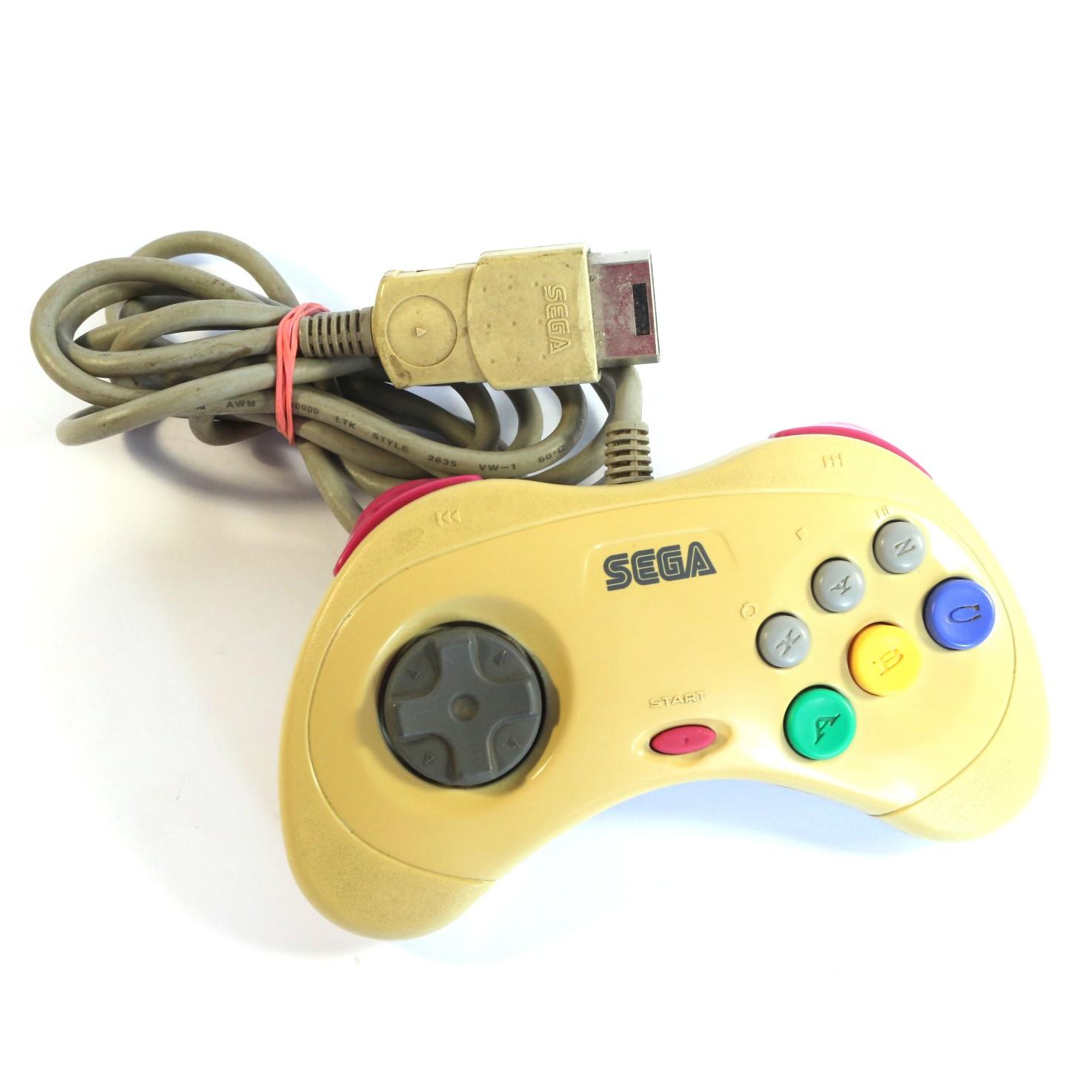 Saturn - Original Controller / Control Pad 2G #weiß HSS-0101 [Sega]