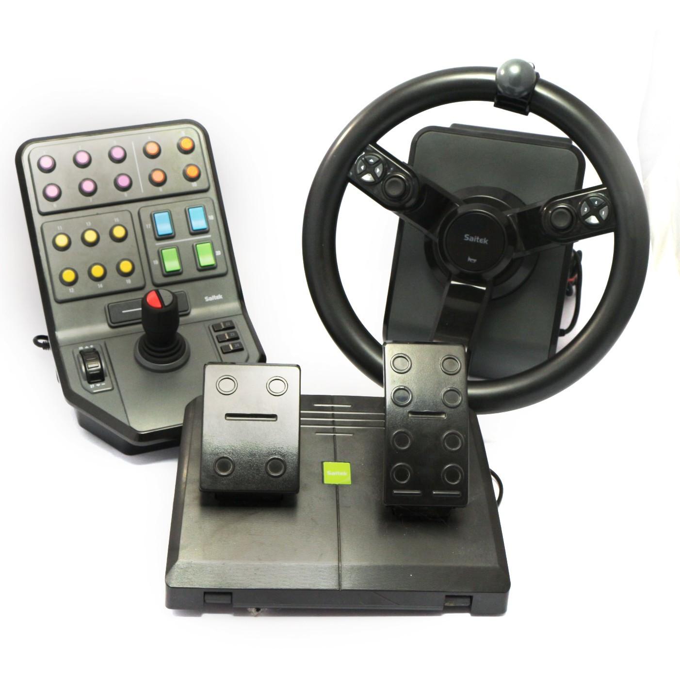 pc logitech g saitek controller lenkrad f r landwirtschaft farm sim precision konsolenkost