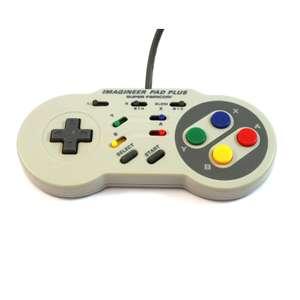 Controller / Pad mit Slowmotion / Imagineer Pad Plus IMP-2 #grau [Imagineer]