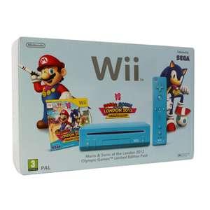 Konsole #blau Mario & Sonic Limited Edition Pak