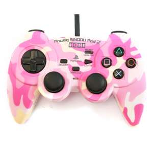 Wired Controller / Pad #camouflage pink Analog Sindou Pad 2 [Hori]