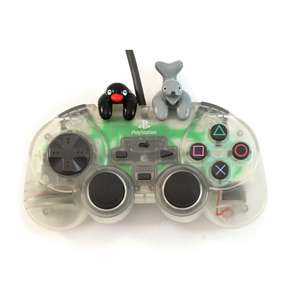 Wired Controller / Pad #transparent Ascii Pad Pingu Version / ASC-0521PGT [Ascii]
