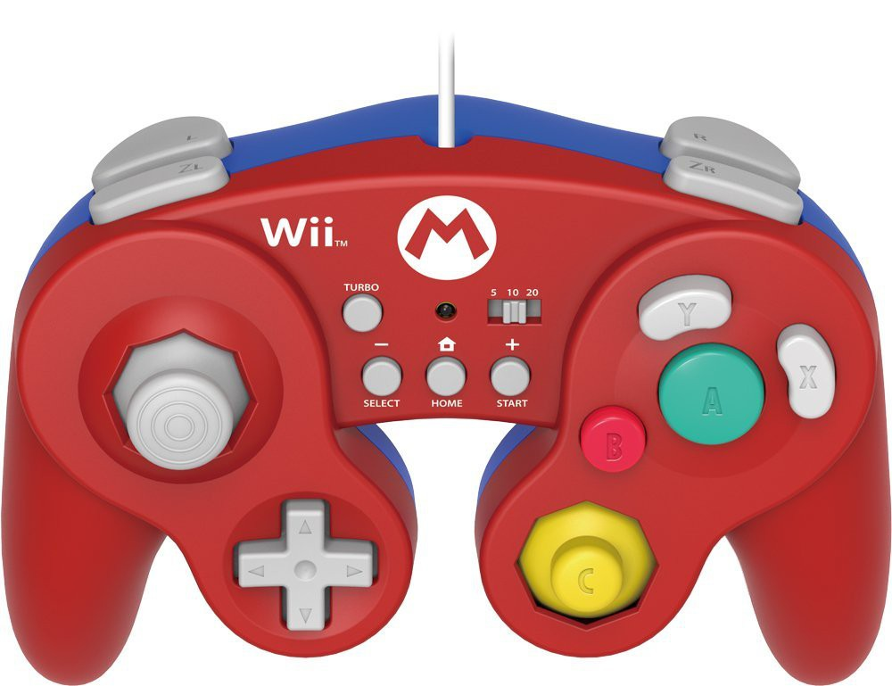 Wii U - Controller / Battle Pad #Mario Edition [Hori]