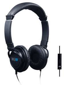 WiiU Headset Stereo Chat Venom
