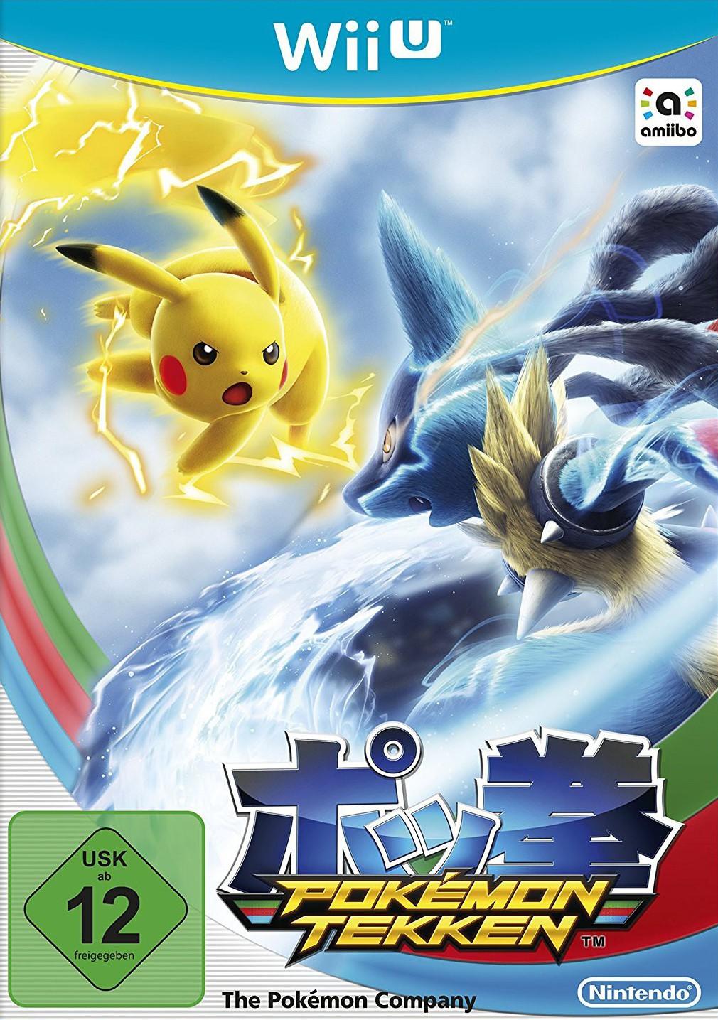 Wii U - Pokémon Tekken / Pokkén Tournament