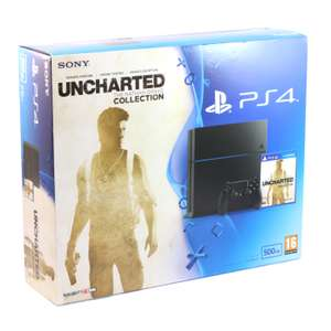 Konsole 500GB #schwarz + Uncharted: The Nathan Drake Collection