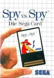 Spy vs. Spy #Sega Card