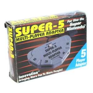 Multiplayer Adapter / Multitap Super-5 [Innovation]