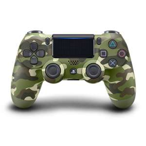Original Wireless DualShock 4 Controller #Green Camouflage V2 [Sony]