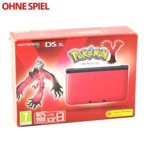 Konsole XL #rot Pokemon Y Edition + Netzteil
