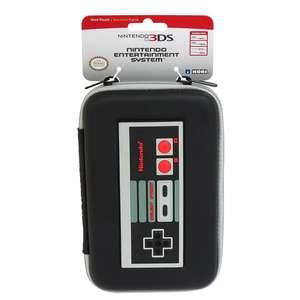 3DS XL Original Tasche / Carry Case / Travel Bag / Hard Case #NES Controller [Nintendo]