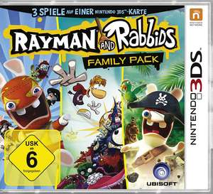 Family Pack: Rayman and Rabbits / 3 Spiele