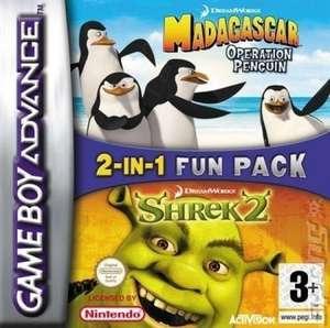 2 in 1: Madagascar: Operation Penguin + Shrek 2