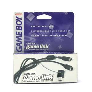 Original Universal Game Link Kabel Set / Interactive Play-Cable [Nintendo]