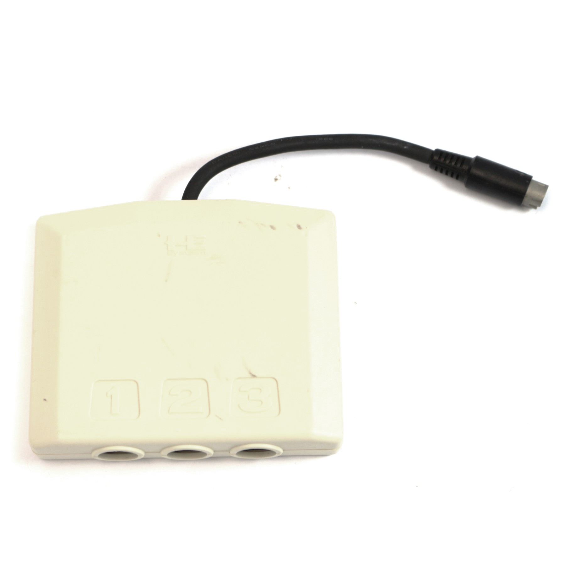 PC Engine / TurboGrafX 16 - Multitap / 3 Spieler Adapter HC63-8 #weiss [HE System]