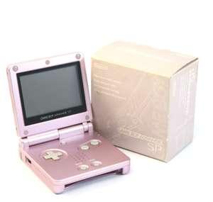 Konsole GBA SP #Pearl Pink + Netzteil