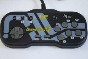 Original Controller / Pad #schwarz Avenue Pad 6 NAPD 1002 [NEC]
