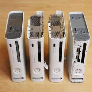 DK82: 4 Microsoft XBox 360 Cases / Leerhüllen