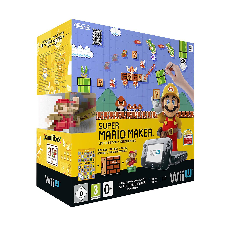 Konsole 32 GB #schwarz Super Mario Maker Premium Pak Limited Edition