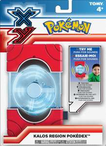 Pokedex - Trainer's Kalos Region [Tomy]