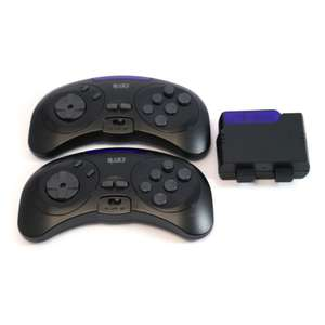 2x Wireless Infrarot 6 Button Controller + Empfänger [NAKI]