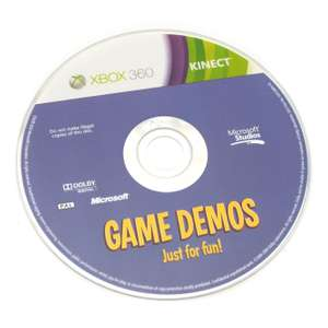Kinect Game Demos: Just for Fun!