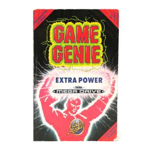 Game Genie: Extra Power Codebuch [galoob]