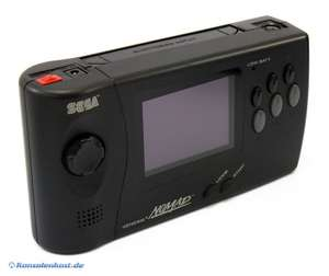 Handheld Konsole + Netzteil [Sega]
