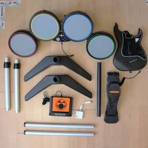 DK 338: XBox Drumset Guitar