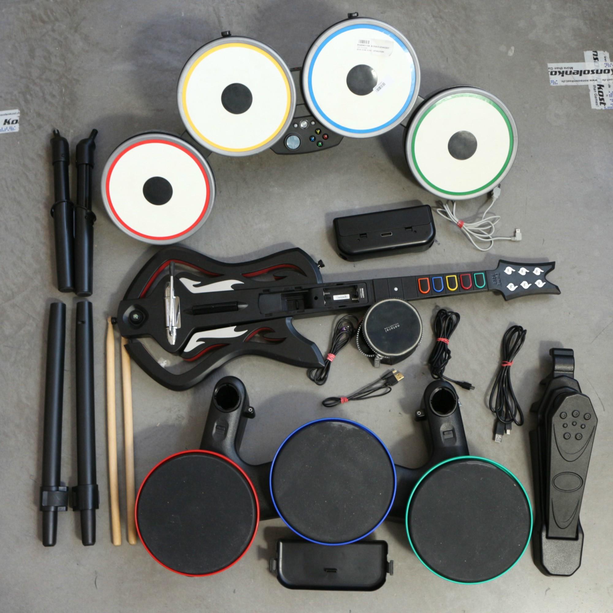 DK 351: Drumsets Guitar Hero