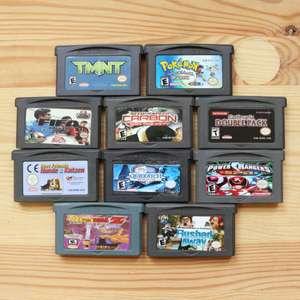 10 GameBoy Spiele zum TOP Preis! - GBA 320