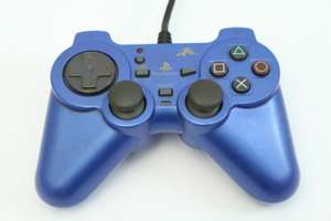 Wired Controller / Pad mit Turbo #blau Analog Rensya Pad [Fujiwork]