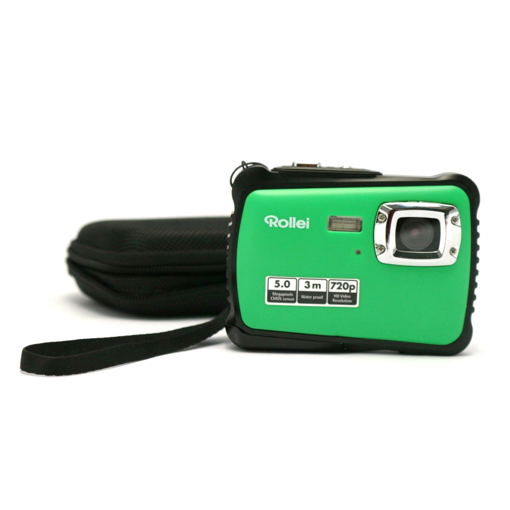 Digital Camera / Kamera: Rollei Sportsline 64 #grün - Batteriefach